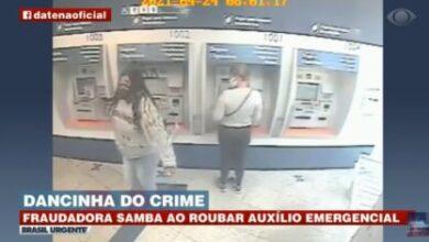 Foto de Mulher é presa após ser flagrada 'sambando' ao fraudar auxílio emergencial