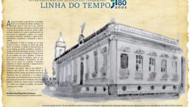 """Foto de Publicação traz linha do tempo desde a """"pré-história"""" da Justiça do Trabalho"""
